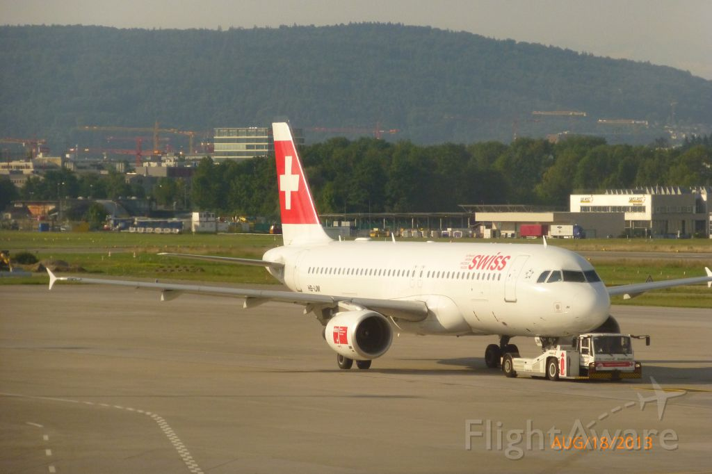 Airbus A320 (HB-IJM) - Delivered to Swissair in 1996<br />Delivered to SWISS in 2002