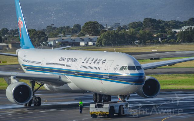 Airbus A330-300 (B-8358) - China Southern Airlines making its bi-daily visit to Adelaide from Guangzhou