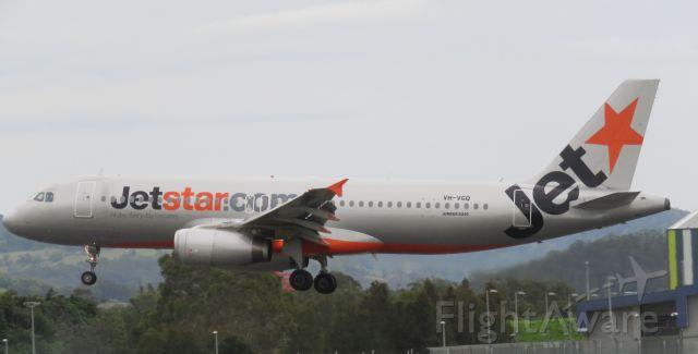 Airbus A320 (VH-VGQ)