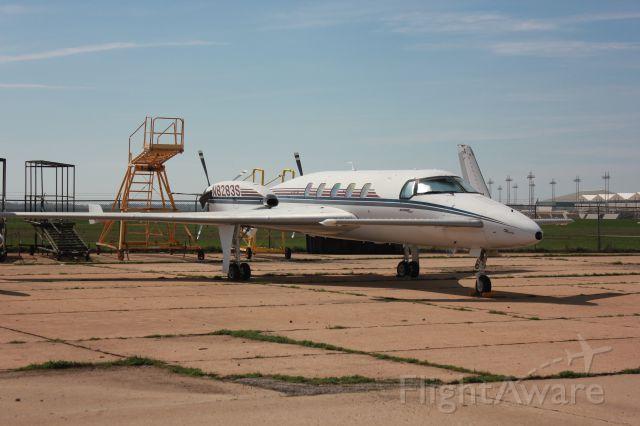 Raytheon Starship (N8283S) - At the Kansas Air Museum in Wichita.