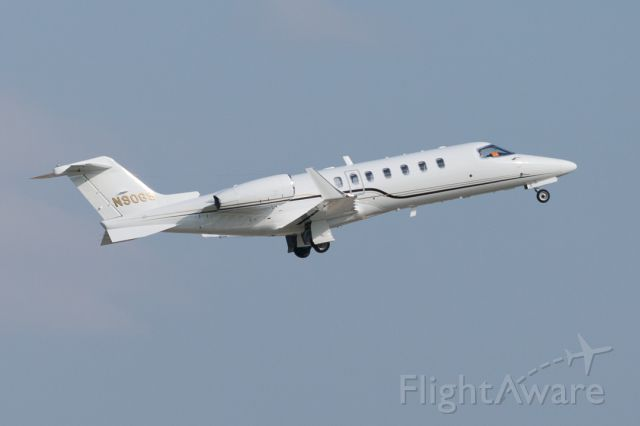 Learjet 45 (N90GS) - N90GS departing for KGPT after the Indianapolis 500 - 24 May 2015