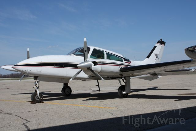 Cessna 310 (N312CS) - Cessna 310R