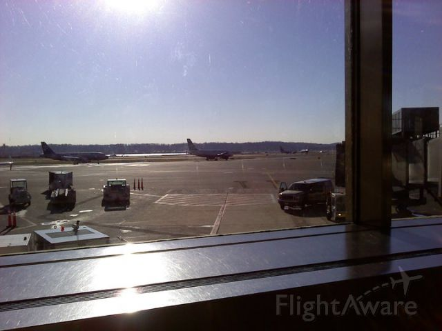 — — - Watching aircraft line up for departure on Runway 4 (KDCA).