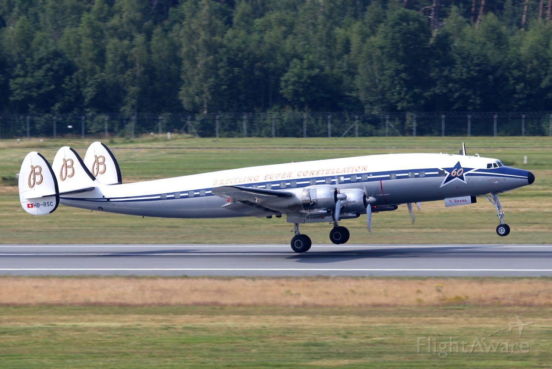 Lockheed EC-121 Constellation (HB-RSC) - Lockheed L-1049F Super Constellation