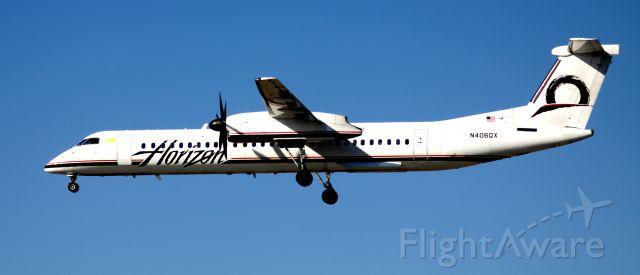 de Havilland Dash 8-400 (N406QX) - Landing 30L