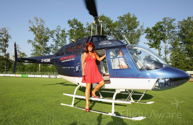 D-HEBM — - The Helicopter transported Germanys number 1 singer Andrea Berg from her home at kleinaspach to the Mechatronic Arena at Aspach for the Concert 2009