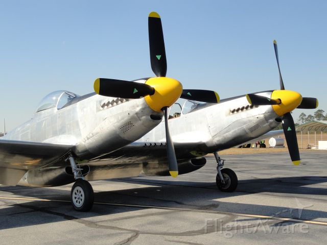 N887XP — - On the ramp for first official flight, Tom Reilly's XP-82 Twin Mustang