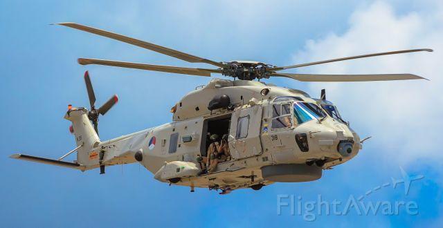 NHI NH-90 (0318) - NH90 on patrol at ST Maarten.