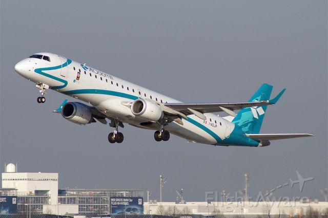 Embraer ERJ-190 (I-ADJP) - EMBRAER ERJ-195-200LR Air Dolomiti EDDM München Franz Josef Strauss