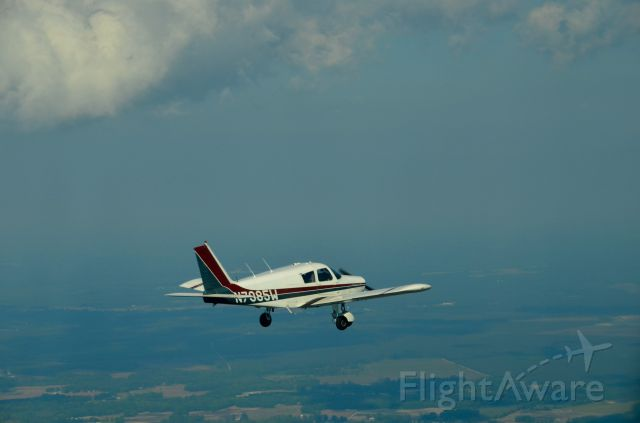 Piper Cherokee (N8075W) - Over Beaufort, NC