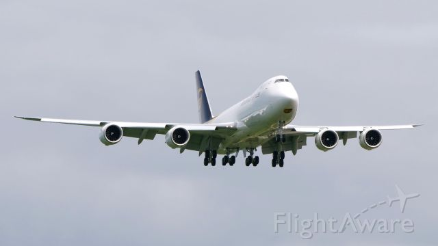 BOEING 747-8 (N616UP) - BOE681 on final to Rwy 16R to complete a B3 flight on 6.20.19. (ln 1554 / cn 64262).