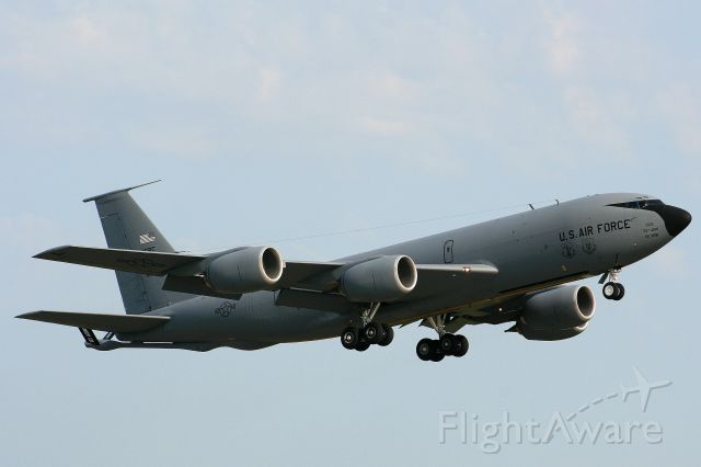 80-1020 — - A KC-135R from the 507th ARW (AFRC) Tinker Afb departs runway 7 in support of the 188th FW.