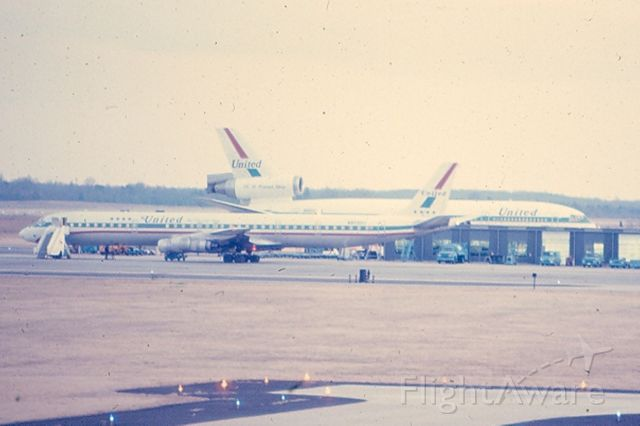 McDonnell Douglas DC-8-70 — - DC-8 & DC-10 at KIAD in late sixties or so.