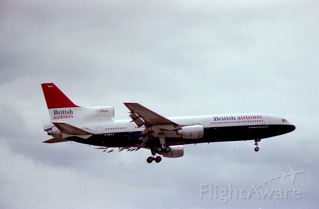 Lockheed L-1011 TriStar (G-BBAJ)