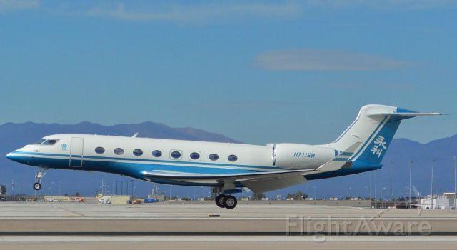 Gulfstream Aerospace Gulfstream G650 (N711SW) - Steve Wynn