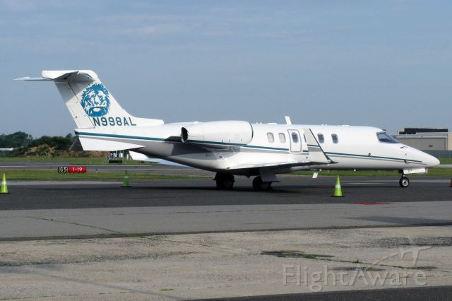 — — - Lear 40XR (Lear 45) N998AL (c/n 45-2130) owned by Alex Lyon & Son Sales Managers & Auctioneers Inc.at Republic airport, Farmingdale, new York, on July 10, 2014.