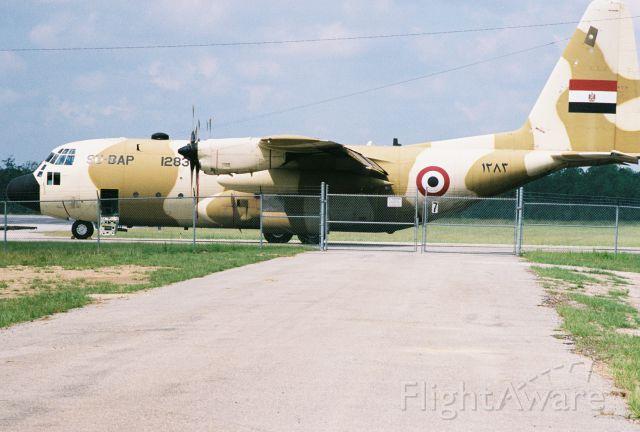 Lockheed C-130 Hercules (SU-BAP) - Egyptian Air Force
