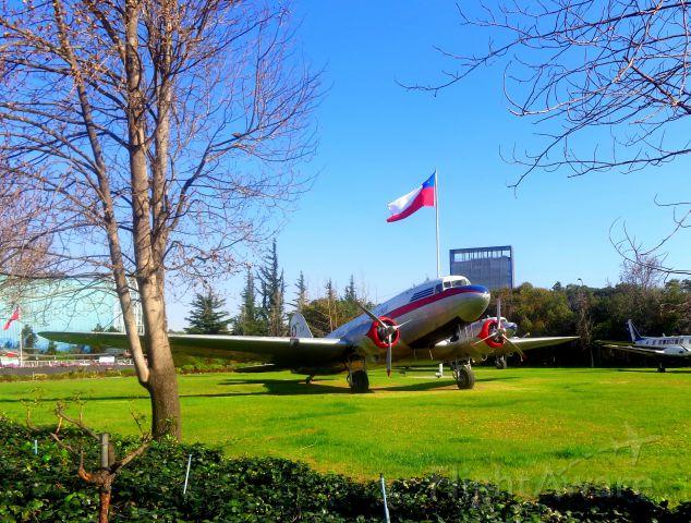 Douglas DC-3 (CCCLDT) - Chile Aerospace Museum in Santiago-Chile.
