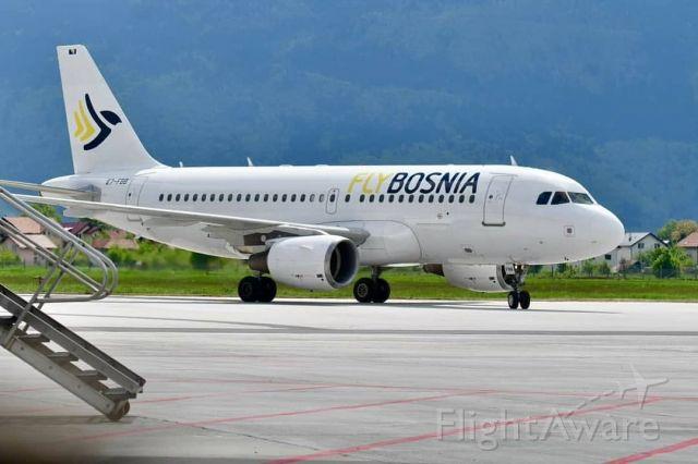 Airbus A319 (E7-FBB)