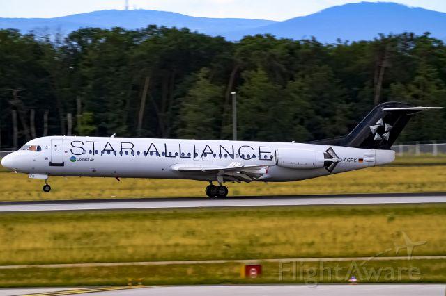 Fokker 100 (D-AGPK)