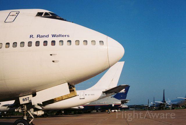BOEING 747-100 (N857FT) - Polar Air Cargo