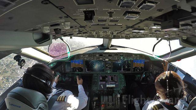 """Boeing 787-8 (5Y-KZE) - From our Kenya Airways """"Dreamgirl"""" all ladies flight!"""