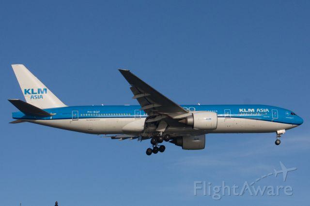 Boeing 777-200 (PH-BQF)