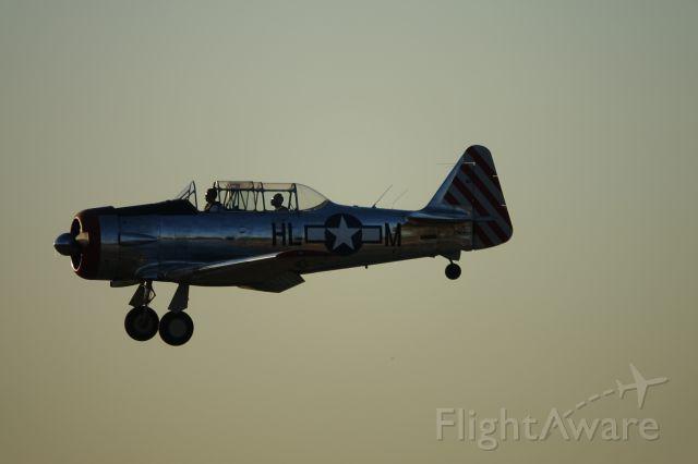 North American T-6 Texan —