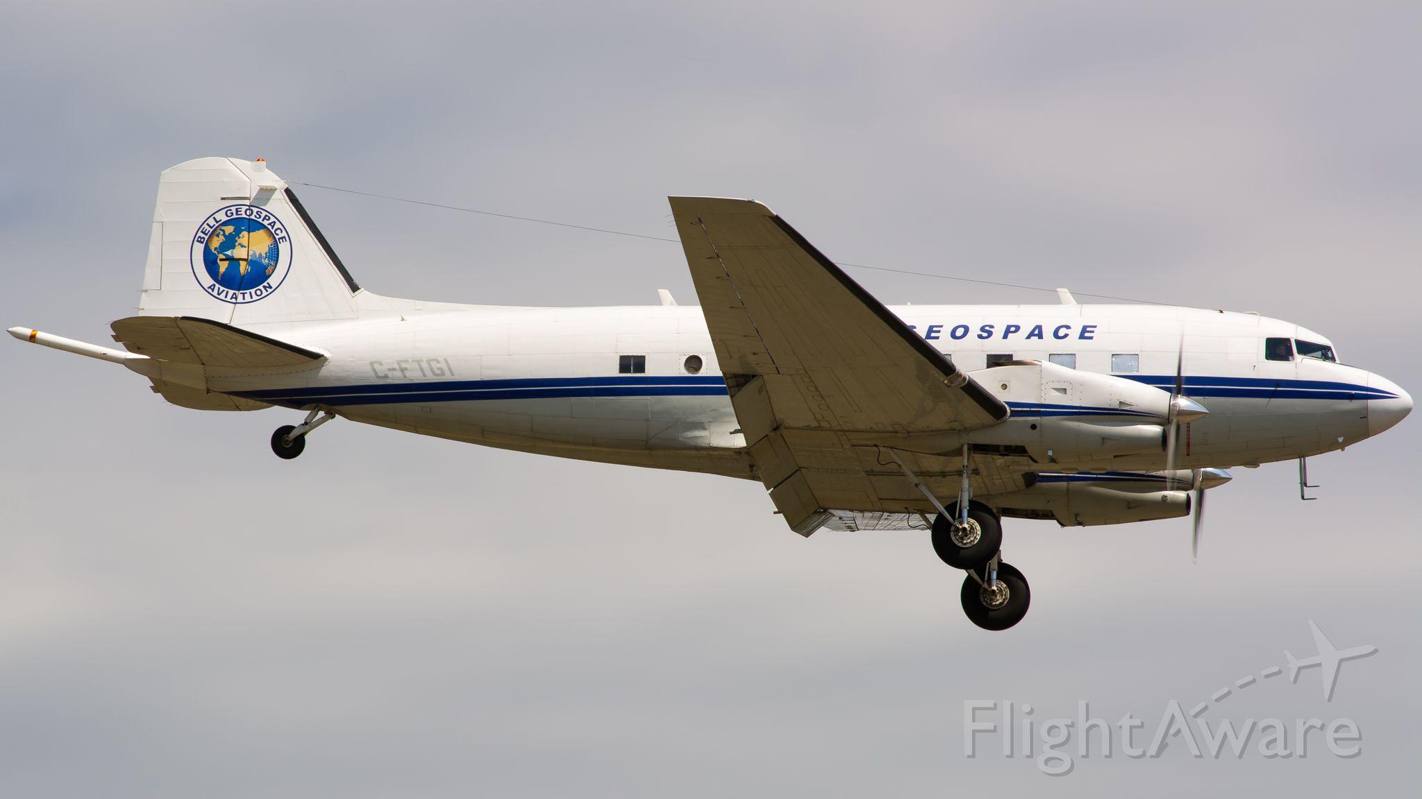 Douglas DC-3 (turbine) (C-FTGI)