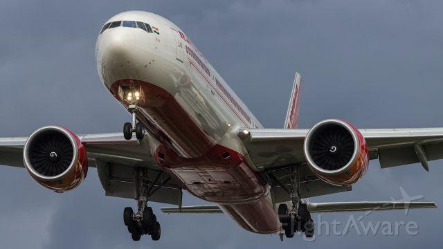 BOEING 777-300ER — - Air India, B77W, approaching EGLL.