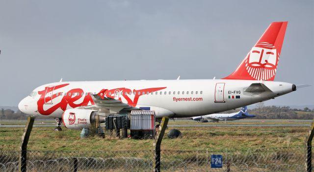 Airbus A319 (EI-FVG) - ernest a319-111 ei-fvg at shannon 10/2/20.