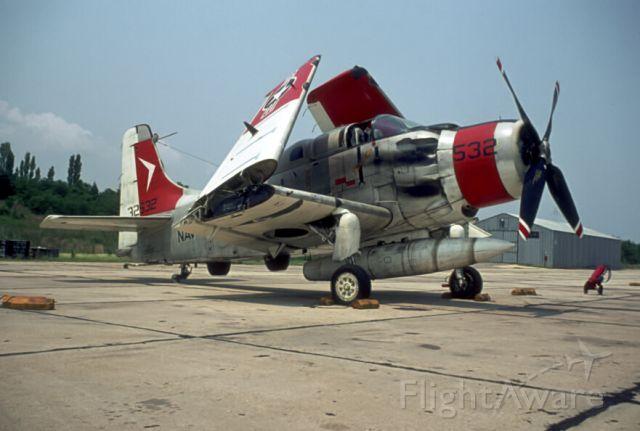 13-2532 — - Flight Test Division's EA-1F.  NATC 6-11-1970