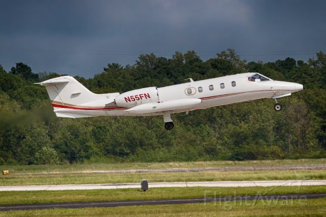 Learjet 35 (N55FN) - taken from the playground at PDK