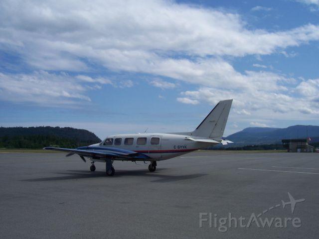 "Piper Navajo (C-GYYK) - ""Parcel Delivery""  Nanaimo Regional Airport  Vancouver Island BC"