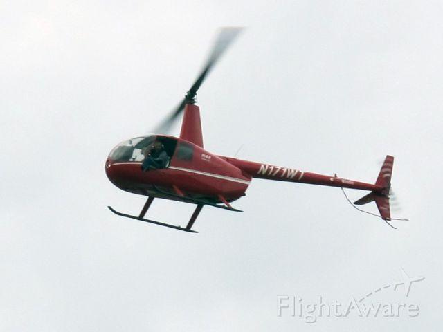 Robinson R-44 (N171WT) - Take off.