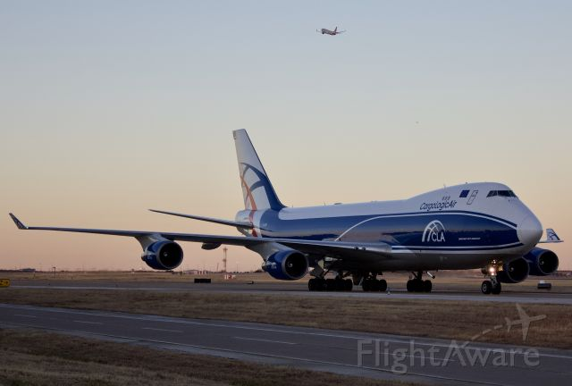 """Boeing 747-400 (G-CLBA) - Arriving to DFW (please view in """"full"""" for highest image quality)"""