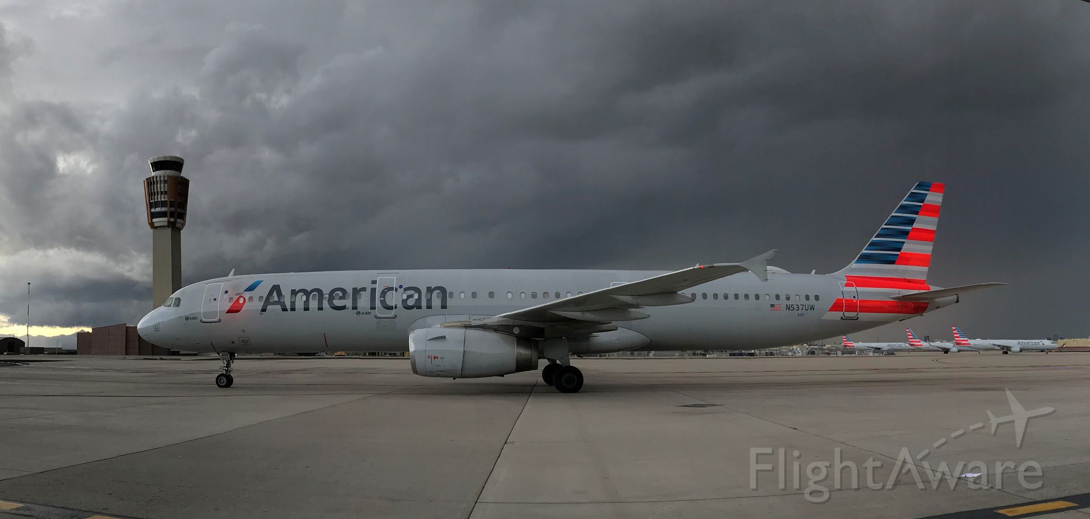 Airbus A321 (N537UW) - barry m. goldwater terminal 4 N1 alpha 18 21NOV19