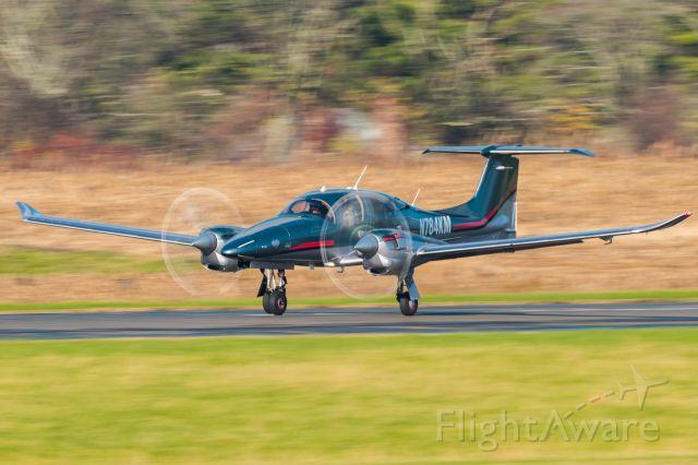 Diamond DA-62 (N784KM) - Diamond DA62 N784KM taking off from KLOM
