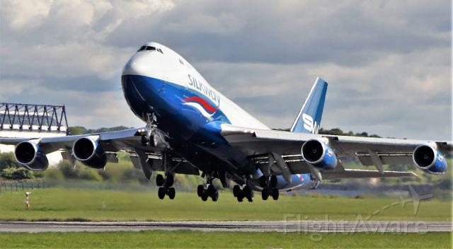 Boeing 747-400 (4KSW008) - silkway b747-4r7f 4k-sw008 dep shannon 16/5/20.