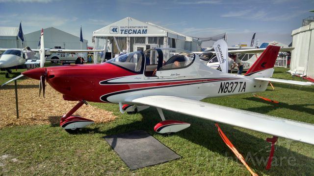Experimental 100kts-200kts (N837TA) - Tecnam introduce 914 Turbo option at Sun-N-Fun 2014