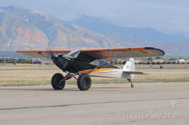 """Piper L-21 Super Cub (N371RJ) - Flying Cowboys """"GHOST CUB"""""""