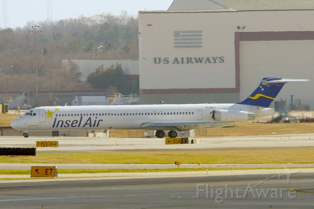 McDonnell Douglas MD-82 (PJ-MDC) - Vacating 23, after arrival from Curacao.