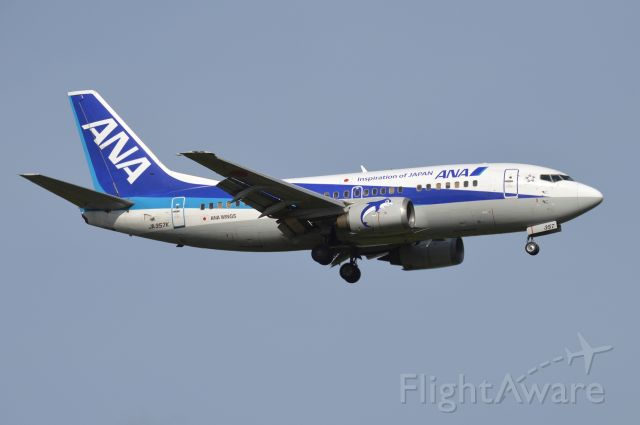 Boeing 737-500 (JA357K) - 2018-09-02