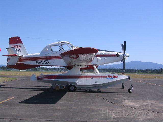AIR TRACTOR Fire Boss (N8512L) - Firefighter at  Deer Park, WA 26aug09
