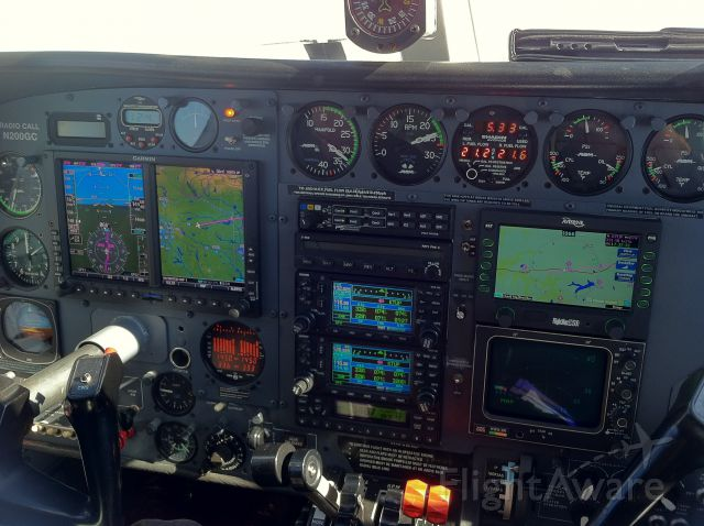 Cessna 340 (N200GC) - In Route to KFAY