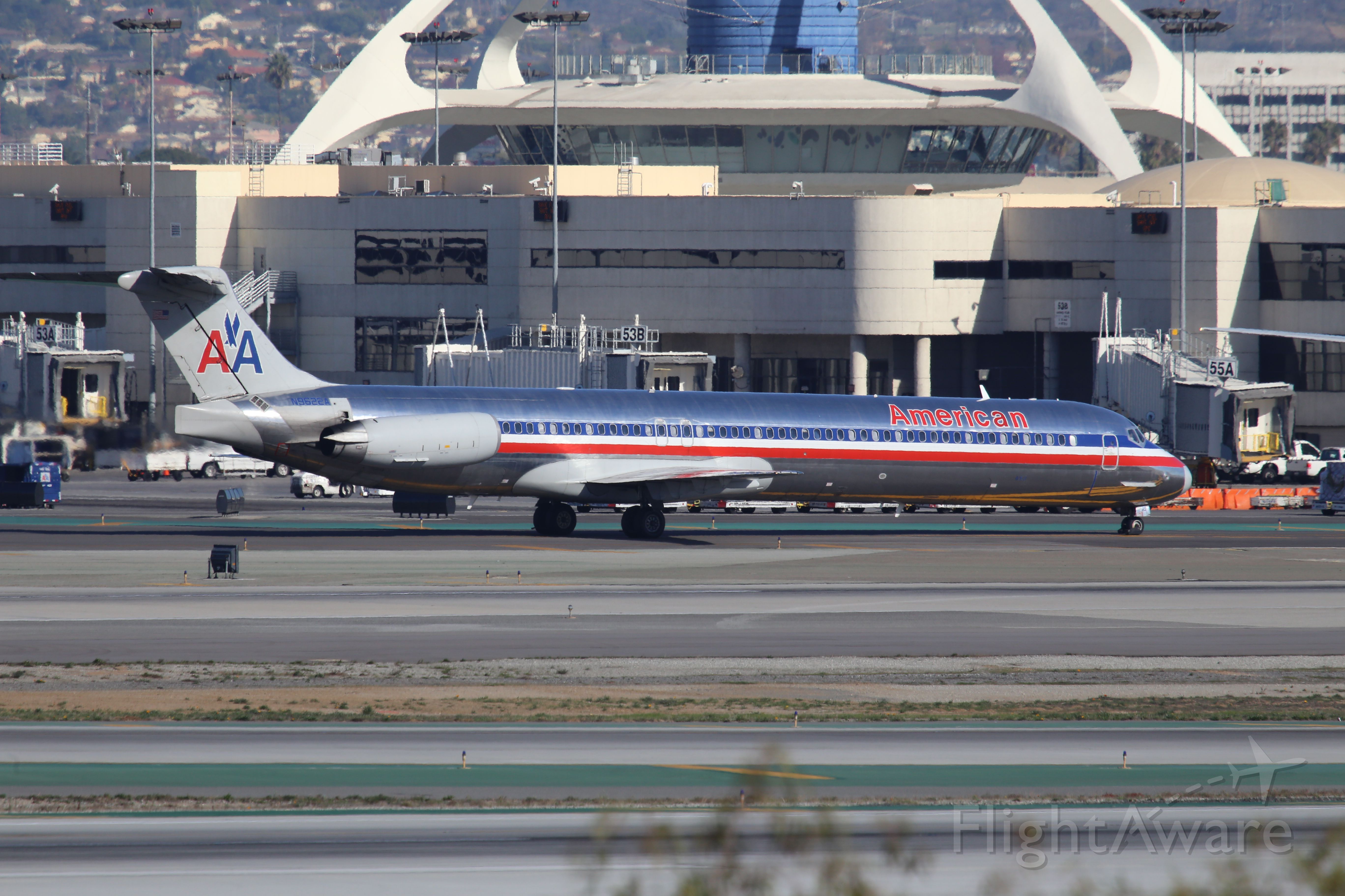 McDonnell Douglas MD-80 (N9622A)