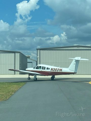 Piper Cherokee (N3031K)