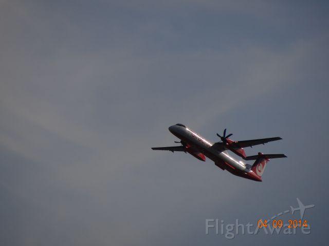 de Havilland Dash 8-400 (D-ABQE) - D-ABQE _ AB _ DSC03621