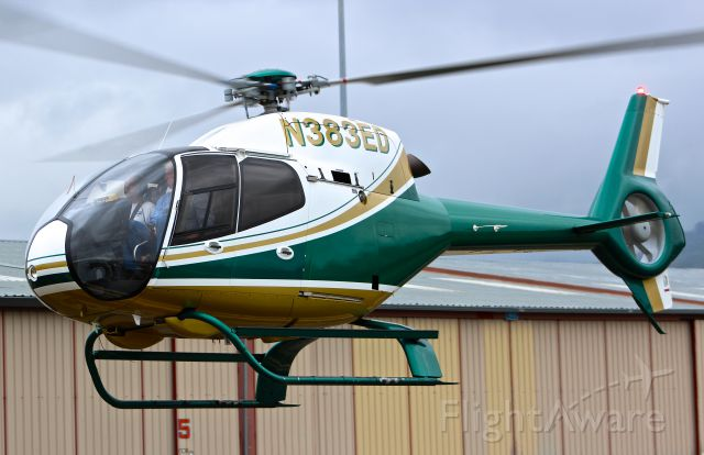 HARBIN HC-120 (N383ED) - Eurocopter 120 taxing out for some instrument work at RHV.