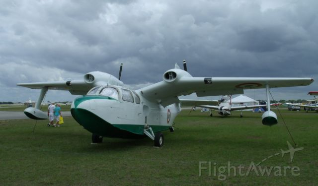TRECKER Gull (N40022) - Piaggio P136 gull-winged twin amphib at Sun 'n' Fun 2013